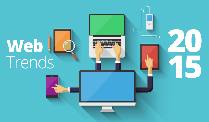 5 Trends for Website Design in 2015